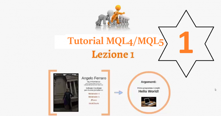 Tutorial MQL4 e MQL5 - Lesson 1 (Hello World!!!) - Trading